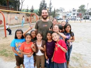 Il nostro volontario Fabrizio in Messico